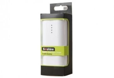 Soshine E4C Powerbank & Ladegerät