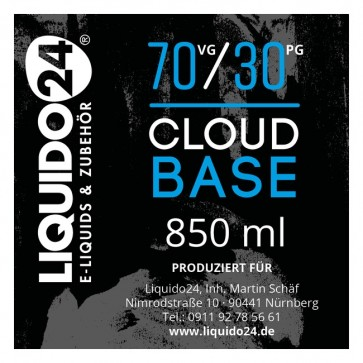 Cloud Base 850ml Liquido24