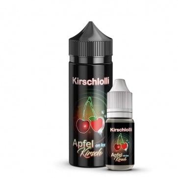 Aroma Apfel-Kirsch on ICE - Kirschlolli (10ml + 120ml Leerflasche)