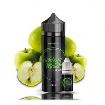 Aroma Apfel - Schlegg Muschln by Kirschlolli (10ml + 120ml Leerflasche)