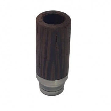 Mundstück - DripTip aus Holz vorne