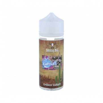 Erdbeer Kuhsaft Liquid von Smoking Bull