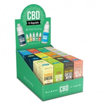 Harmony CBD Mix Super Display Box