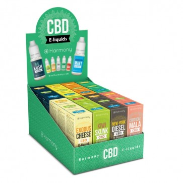 Harmony CBD Originals Super Display Box