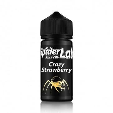 Aroma Crazy Strawberry - Spider Lab Flavour (11ml + 100ml Leerflasche)