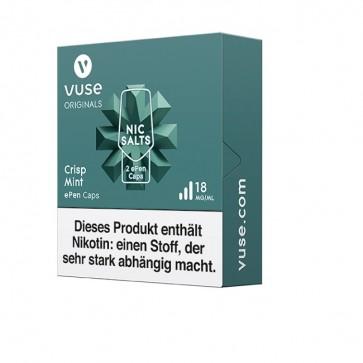 Vuse ePen Caps Crisp Mint Nic Salts (2er Pack)