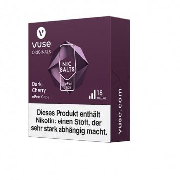 Vuse ePen Caps Dark Cherry Nic Salts (2er Pack)