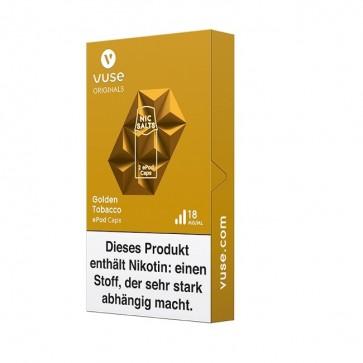 Vuse ePod Caps Golden Tobacco Nic Salts (2er Pack)