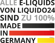 E-Liquids qualitaetsversprechen made in germany