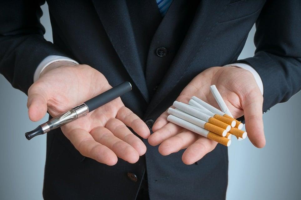 E-Zigarette vs. Zigarette