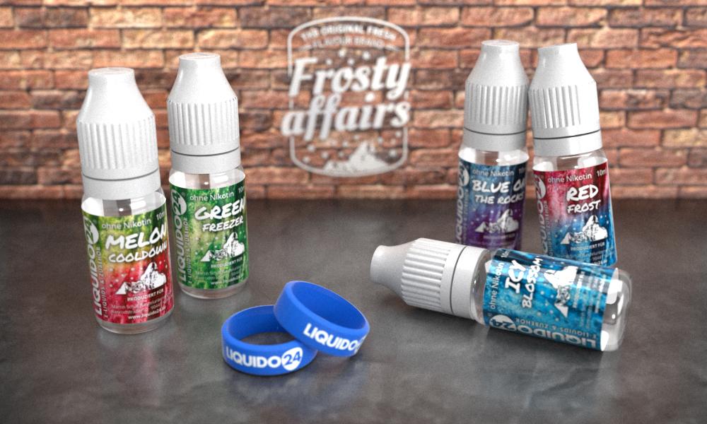 Frosty affairs Collection Set von Liquido24