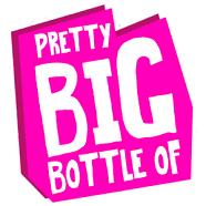 Pretty Big Bottle Logo