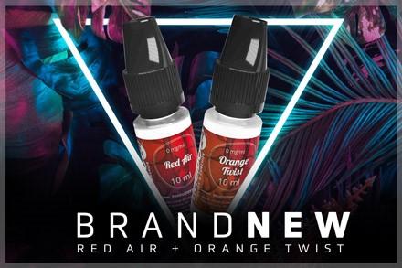 Red Air und Orange Twist