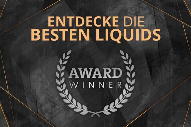 Beste Award Liquids bei Liquido24