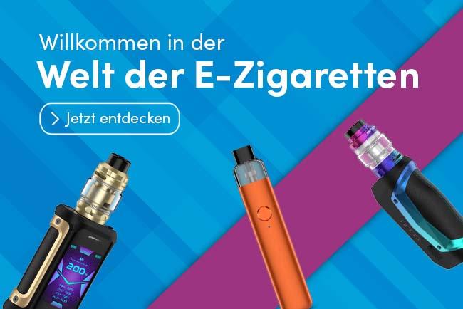 Welt der E-Zigarette