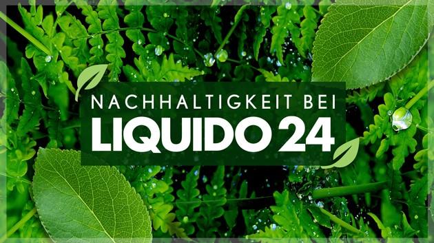 Nachhaltigkeit bei Liquido24 Banner